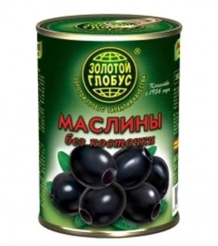 """Маслины """"Золотой глобус"""" б/к 300мл"""