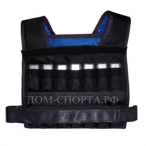 Жилет-утяжелитель «Компакт 2 » 28 кг размер 52-56
