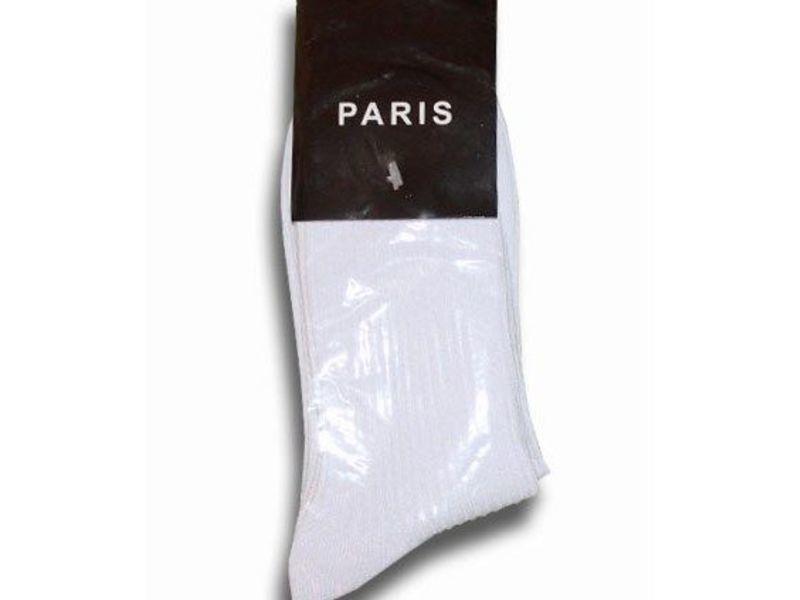 Мужские носки белые Paris