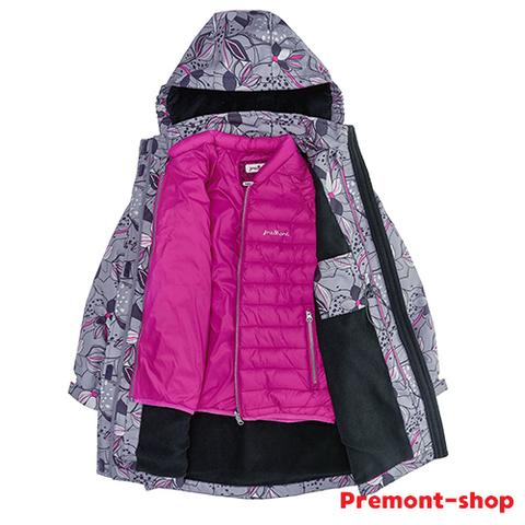 Съемная куртка на плаще Premont для девочек Лилия Флер-де-Лис