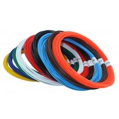 Набор пластика PLA для 3D ручек (9 цветов по 10 м)