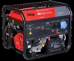Бензиновый генератор с электростартером и коннектором автоматики FUBAG BS 8500 A ES