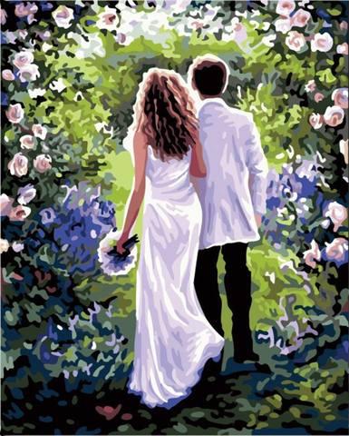 Алмазная Мозаика 20x30 Свадебное настроение
