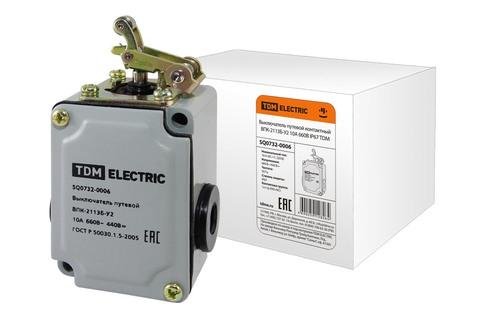 Выключатель путевой контактный ВПК-2113Б-У2 10А 660В IP67 TDM