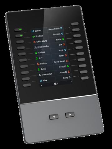 Grandstream GBX20 - Модуль расширения клавиатуры для GXV3350 и GRP2615