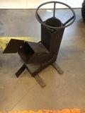 Печь ракетного типа сталь 3 мм