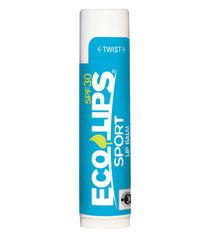 Солнцезащитный бальзам для губ SPF30 спорт, Eco Lips