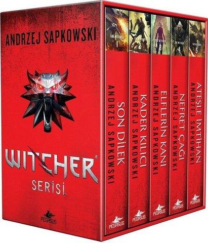 The Witcher Serisi-5 Kitap Takım