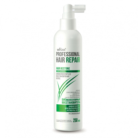 Белита Professional Hair Repair Биомолекулярный восстановитель «живой волос» 250мл
