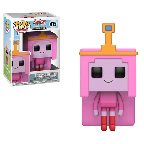 Фигурка Funko POP! Vinyl: Adventure Time/Minecraft S1: Princess Bubblegum 32253