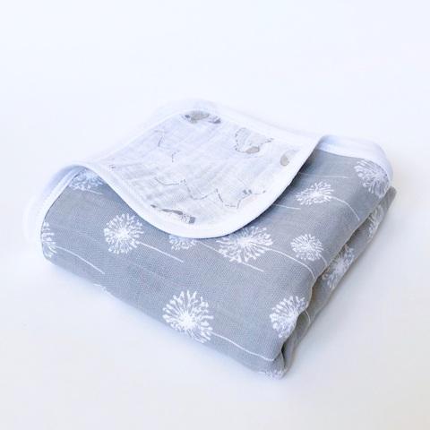 Муслиновое одеяло Mjölk Одуванчики/Барашки