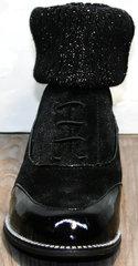 Женские ботинки оксфорды Kluchini 5161 k255 Black