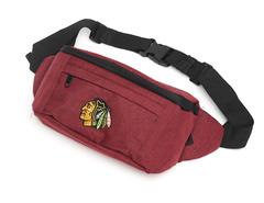 Сумка на пояс NHL Chicago Blackhawks