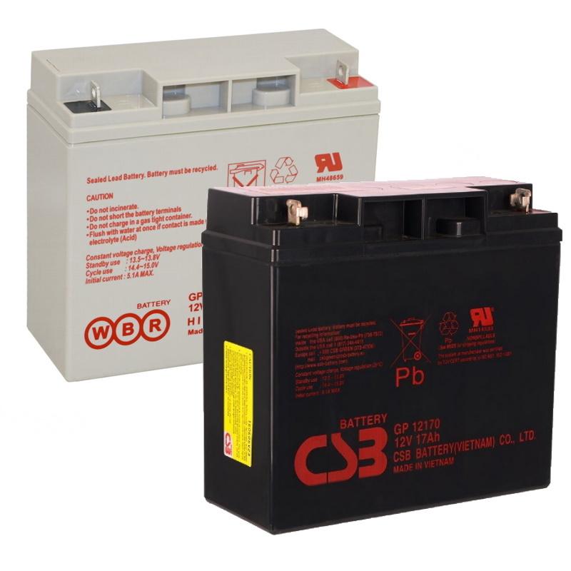 Аккумулятор GP 12170 (12В 17А/ч)