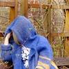 Описание Кардиган-пальто с капюшоном 2-color Gomitolo