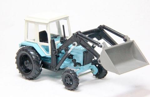 MTZ-82 loader TO-19 with shovel Kompanion 1:43