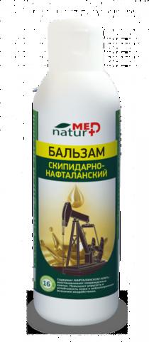 Бальзам Скипидарно-Нафталанский 150 мл, шт ТМ Натурмед НИИ Натуротерапии