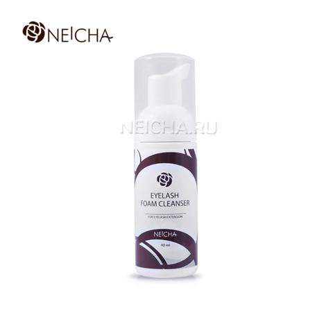 Очищающая пенка для ресниц и лица NEICHA 40мл