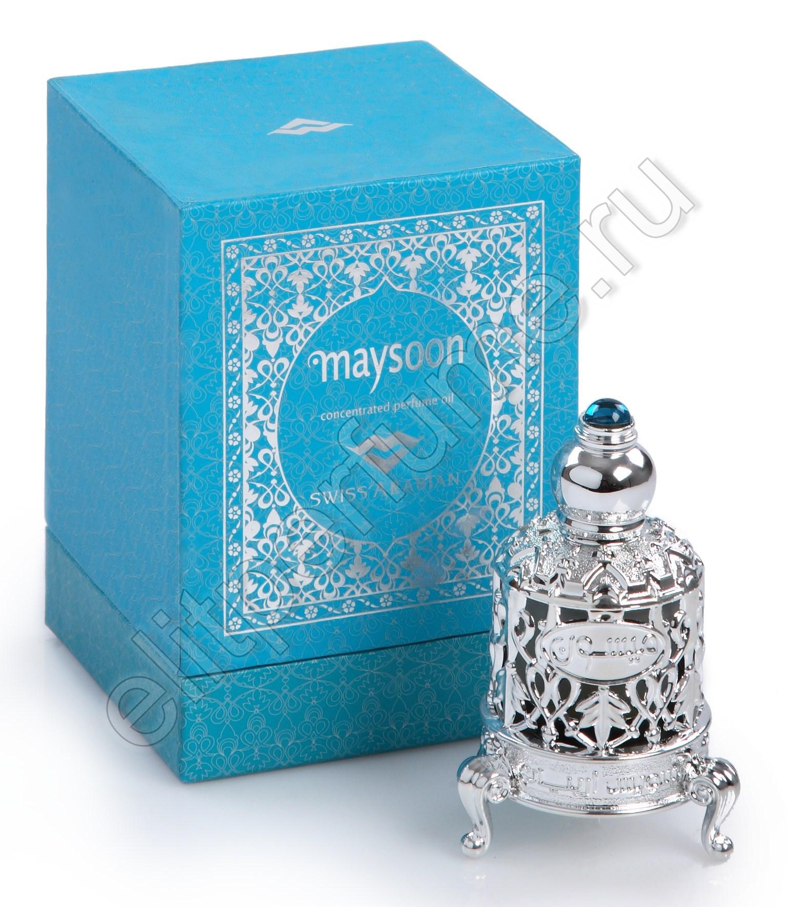 Пробники для арабских духов Мэйсун Maysoon 1 мл арабские масляные духи от Свисс Арабиан Swiss Arabian
