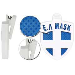 ECOM Air Mask (PINK) - ВирусСтопер в виде значка. (1 кв м, 30 дней)