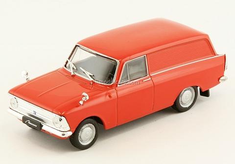 Moskvich-434 red 1:43 DeAgostini Auto Legends USSR #92