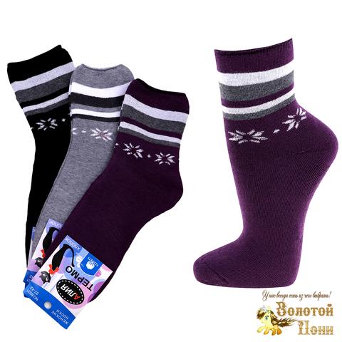 Носки махровые женские (37-42) 191206-АВ331