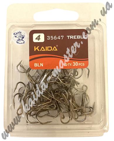 Крючки тройники Kaida №4
