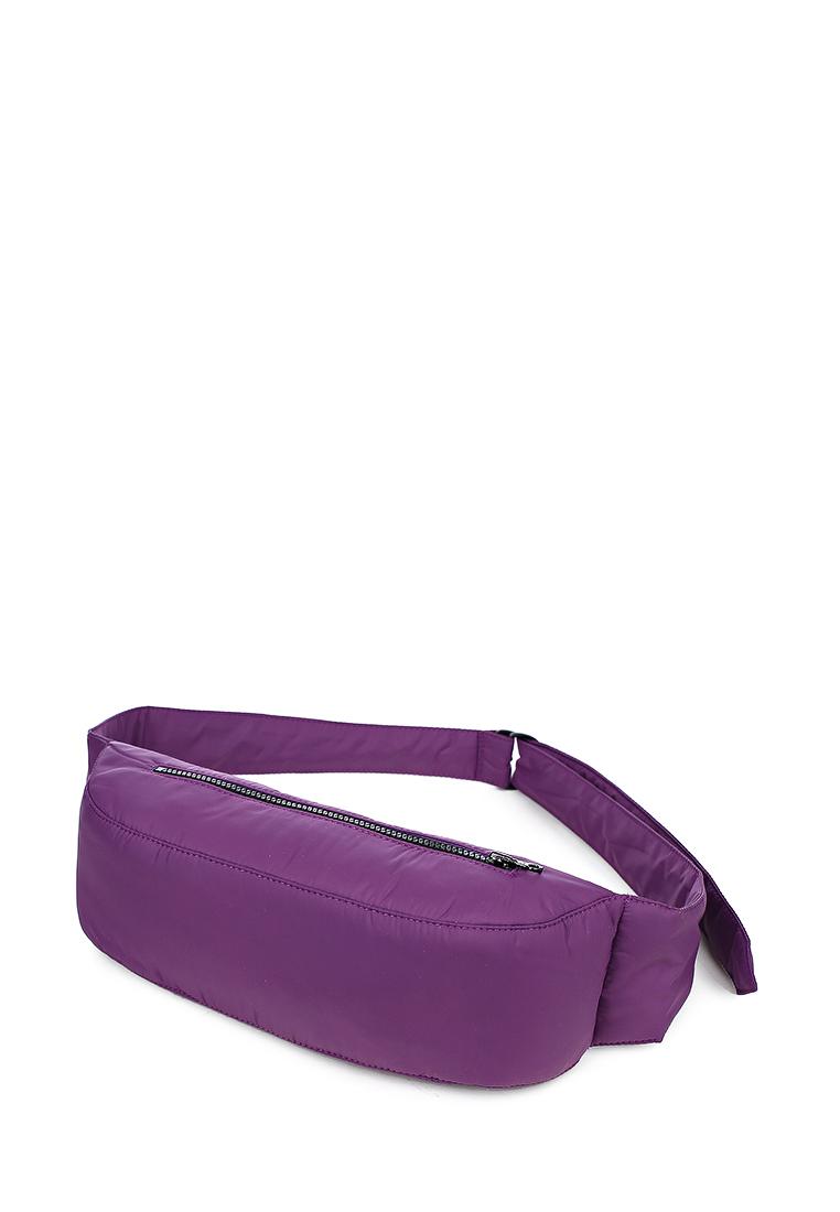 Сумка поясная фиолетовая (FW0445)