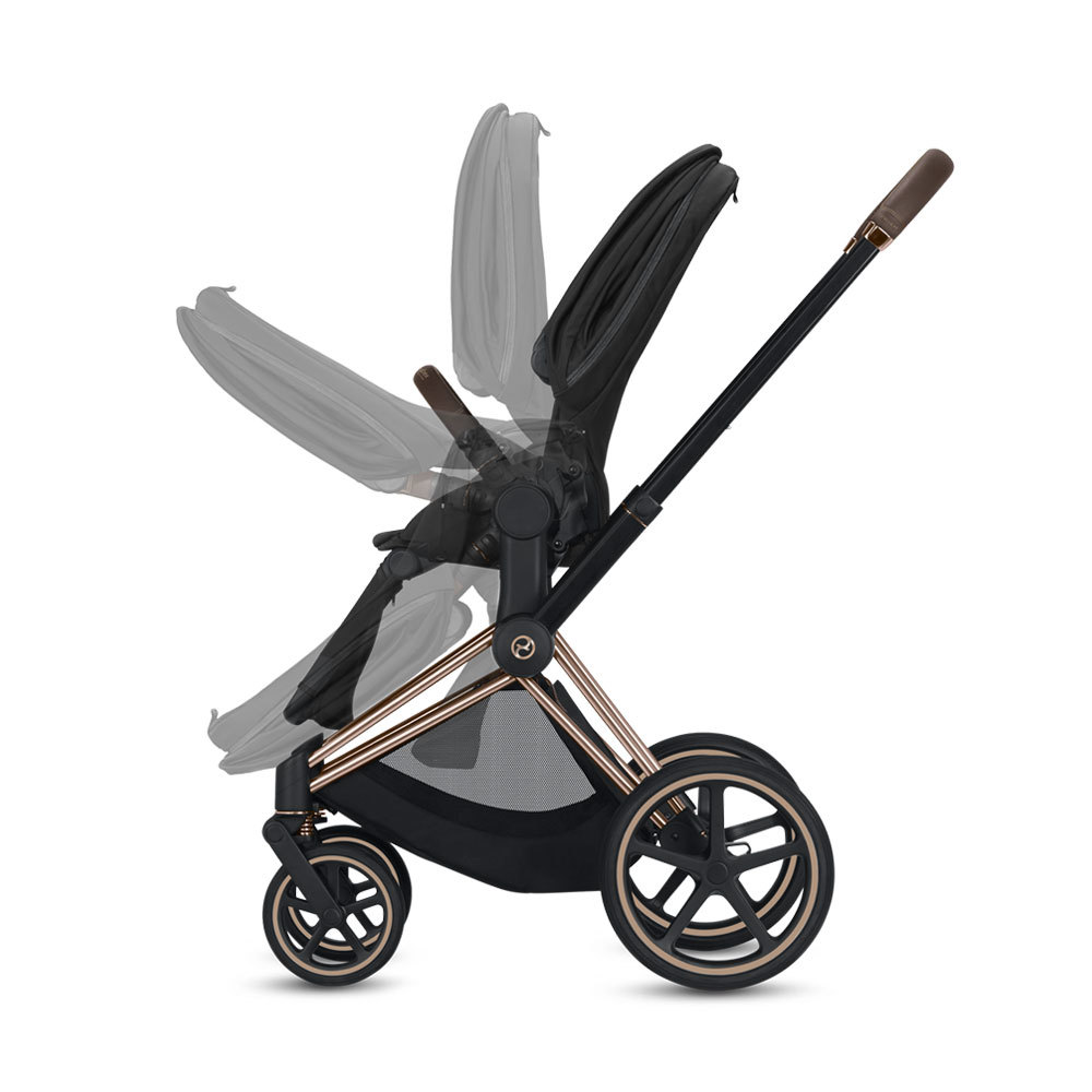 Cybex Priam III Fashion Collection  (Matt Black / Birds of Paradise)