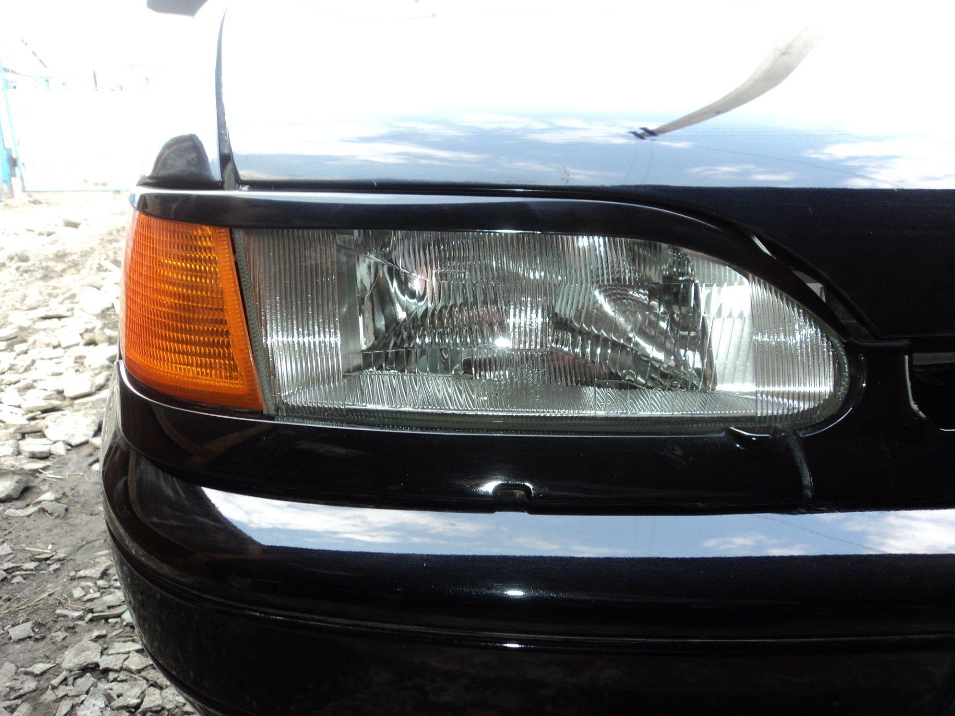 Нижние реснички фар на бампер на ВАЗ 2113-15