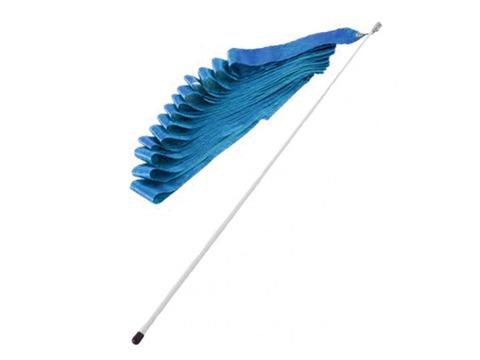 Лента гимнастическая с палочкой (синий): PD-01