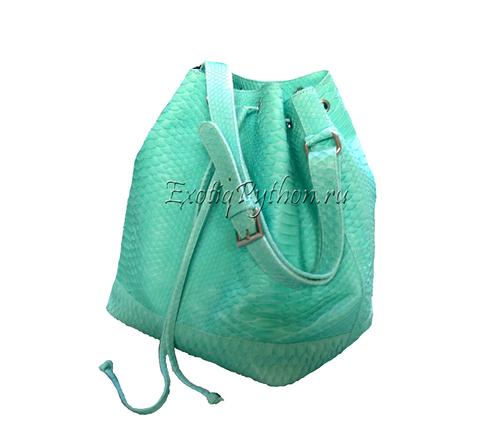 Рюкзак из кожи питона BG-170