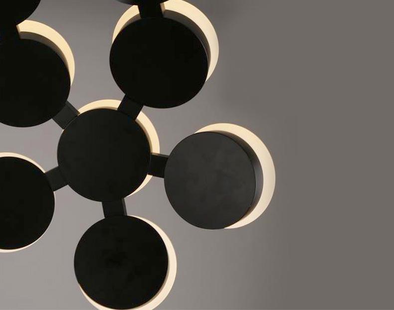 Подвесной Led светильник копия Scopas by Artemide (черный)