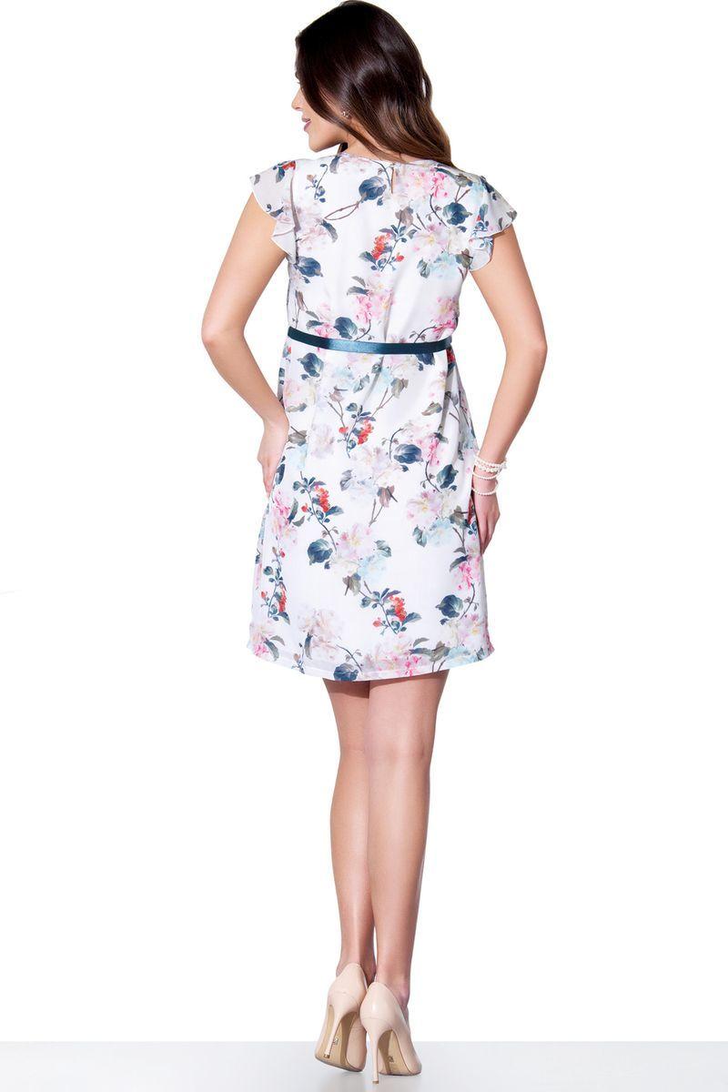 Платье для беременных 05577 белый