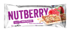 NUTBERRY Батончик мюсли «Малина» 30г