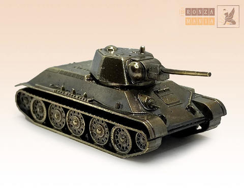 фигурка Танк Средний Т-34-76 1943 г. (1:100)