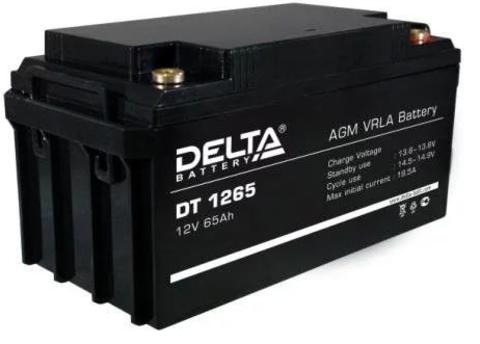 Аккумуляторная батарея Delta DT 1265 65 А*ч 12 В