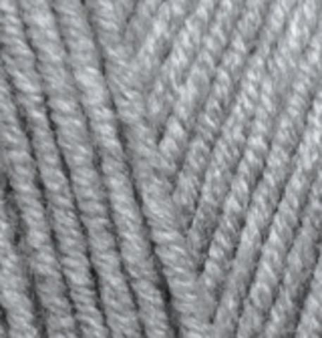 Пряжа Alize Lanagold Plus серый 21
