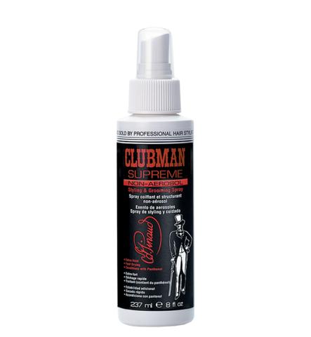 Спрей для укладки волос Clubman Supreme Hair Spray, 240 мл.