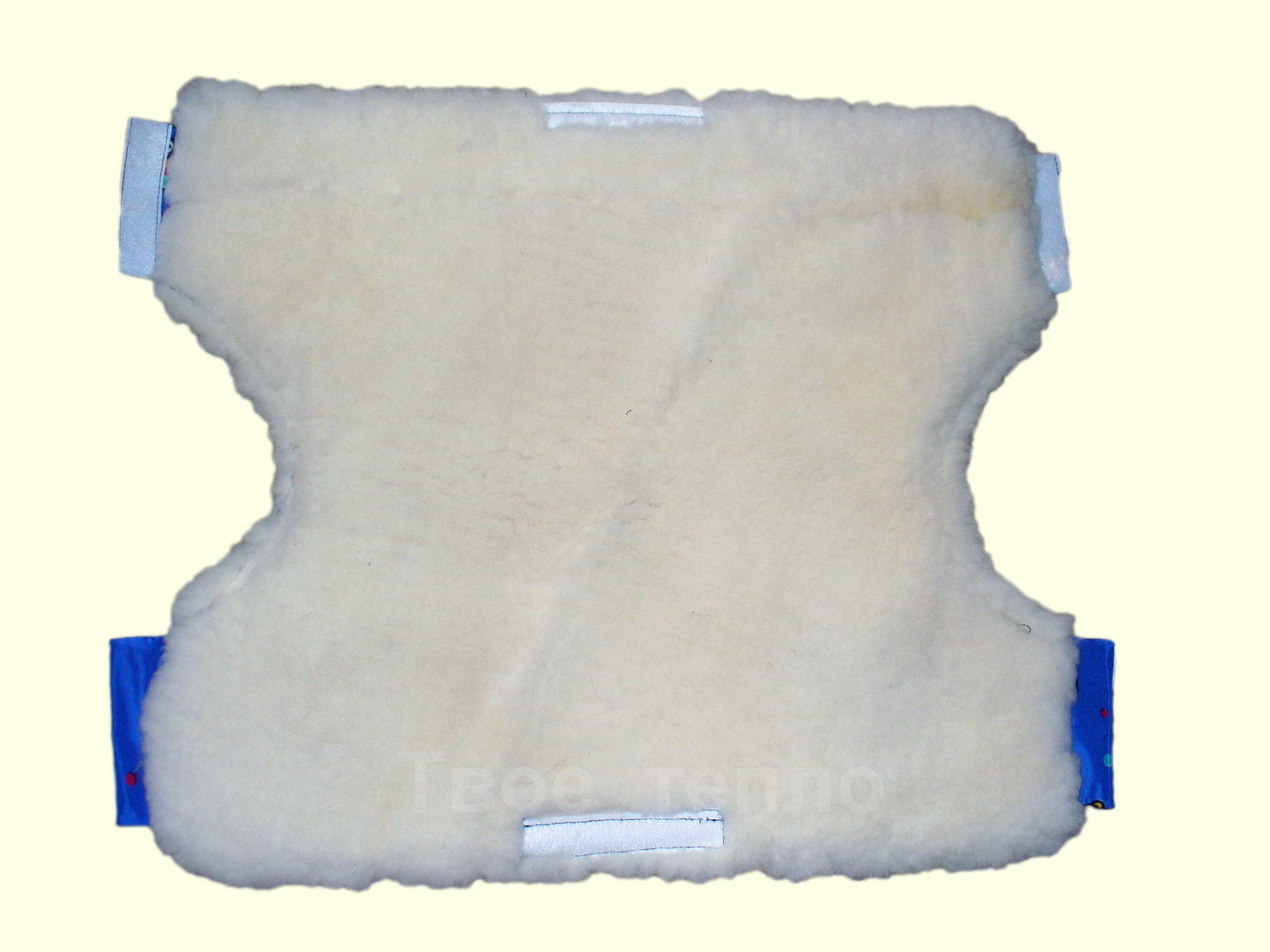 Муфта для рук на коляску/санки синяя