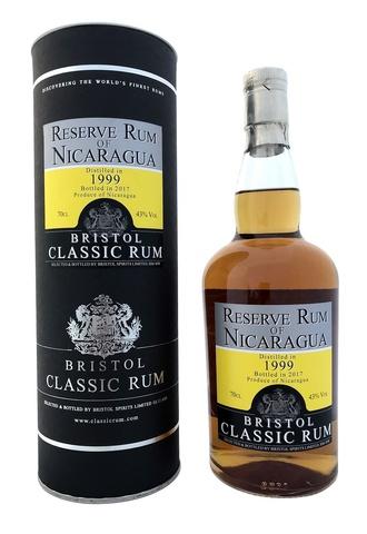 Bristol Classic Rum Reserve Rum of Nicaragua в подарочной упаковке
