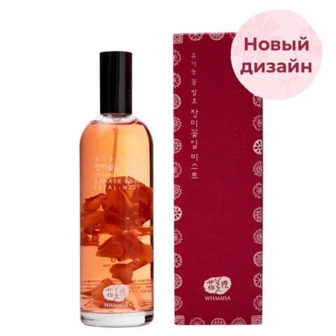 Спрей для лица с экстрактом лепестков розы | Whamisa