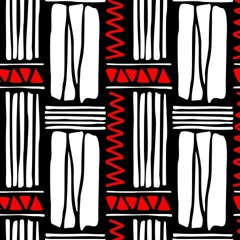 Абстрактный фон с белыми и красными элементами