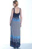 Платье для беременных 07454 синий