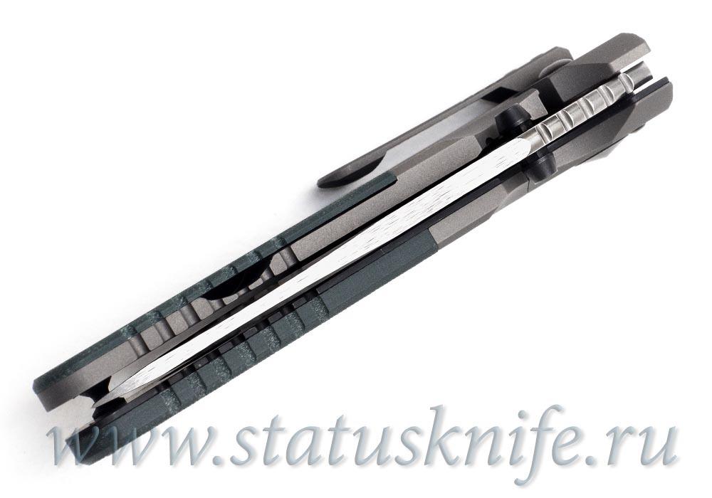 Нож Benchmade 7505-132 MLK D/A Sibert M390 - фотография