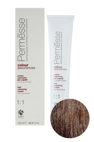 Крем-краска для волос 6.0 Темный блондин Permesse, Barex
