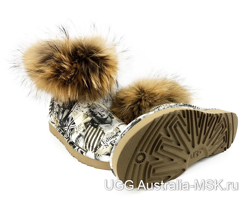 UGG & Jimmy Choo Travel Fox Yellow