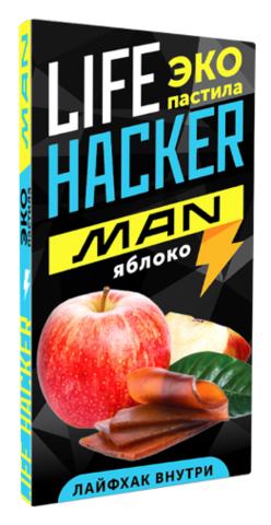 Яблочная пастила  «Life hacker man» ЛайфХакер