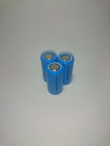 Аккумулятор ICR16340 (CR123) Li-ion 800mAh 3,7V 2,9Wh