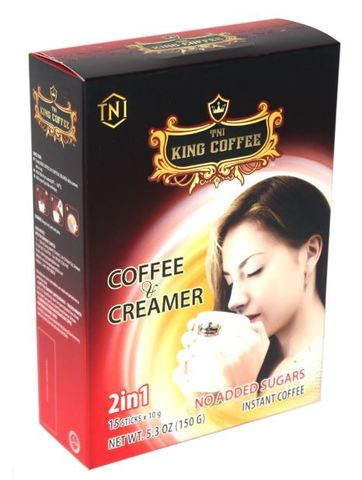 Растворимый кофе 2в1 TNI King Coffee - 15 х 10 гр.